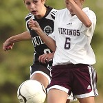 Opportunistic Vikings beat Old Town for fifth consecutive girls soccer victory