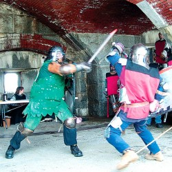 Re-enactors revive the culture of Middle Ages