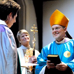 First female Episcopal bishop in Maine passes shepherd's staff