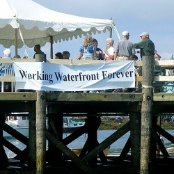Restored wharf dedicated in Port Clyde