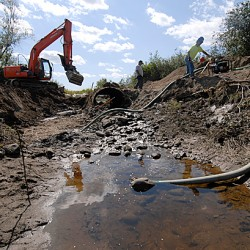 Sullivan culvert project aims to ease erosion, fish-access issues