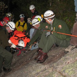 Crews rescued injured Acadia hiker
