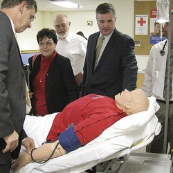 NMCC holds critical care transport training