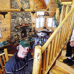 Snowmobilers snip ribbon for new Schoodic snowmobile trail