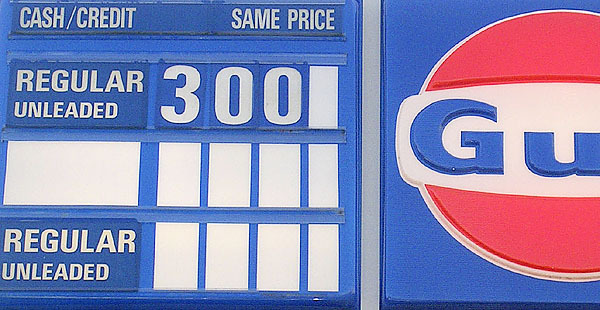 Gasoline prices in Perry were $3 a gallon Monday and a bit higher in Calais. Area officials hope the drop in gas prices will encourage Washington County shoppers to visit Calais merchants. Buy Photo