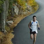Ellsworth native Louie Luchini sets course record at MDI Marathon