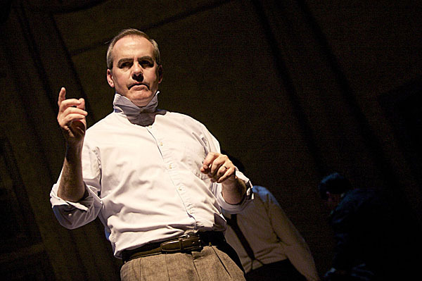 Actor Bill Timoney is industrialist and presidential candidate Grant Matthews in the PTC's production of 'State of the Union,' which starts preview performances on Wednesday.
