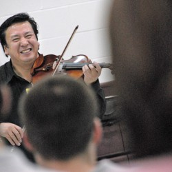 Guest conductor has world experience