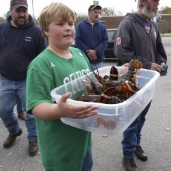 Rockland rallies to support state lobster industry