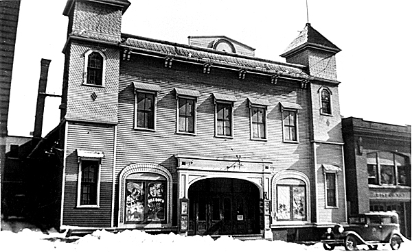 Bangor's first vaudeville house, the Union Theater, later became the Olympia Theater, which many Bangoreans still remember.
