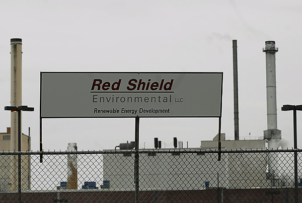 An exterior view of the Red Shield facility in Old Town, Maine.  Buy Photo