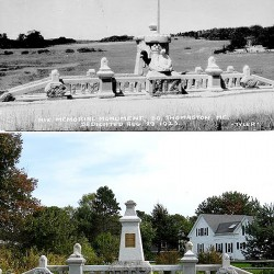 Restored WWI soldier memorial rededicated