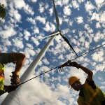 Firm testing wind energy near Eastbrook
