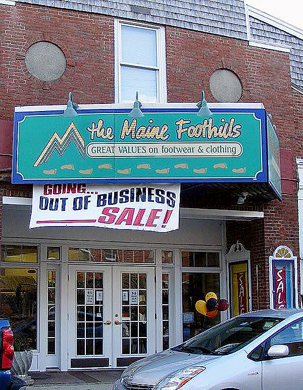 MDG Enterprises, doing business as Maine Foothills, a family clothing and footwear store on Mechanic Street in Camden,  is leaving in December after eight years to consolidate with the company's stores in Boothbay Harbor.  Buy Photo