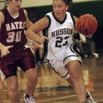 Strong first half propels Bates by Husson