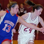 Bangor girls gain pointworthy victory