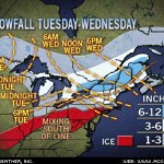 Significant snowfall expected Wednesday