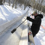 Fast or fashionable, competitors flock to toboggan races
