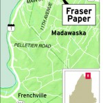 Fraser idles one paper machine as it awaits orders