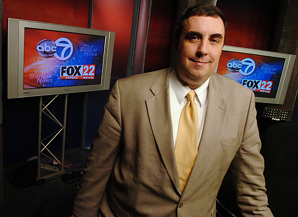 Bangor TV stations WVII, WFVX hire Craig Colson as news director, anchorman
