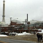 Verso mill worker burned while working on steam pipe