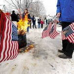 Ellsworth VFW ensures Old Glory always gets a proper send-off