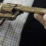 Historic pistol sells for $800,000