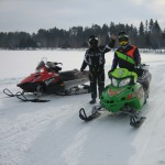 2 people die after sleds break thin ice