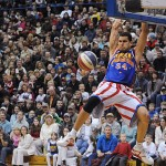 Harlem Globetrotter shares anti-bullying program with Bangor schoolchildren