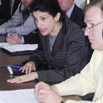 Sen. Snowe visits Maine mill slated to close