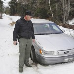 Warden helps man who got lost walking to camp in Barnard