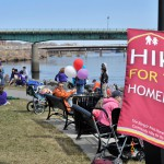 Hike raises $50,000 for shelter