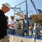 Volunteers build greenhouse for Trenton school