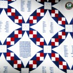 Honor roll, military truck, quilt join museum collection