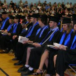 Bangor High School commencement ceremony