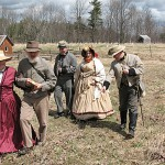 Civil War Encampment in Camden's Harbor Park August 22, 23, 24