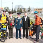 Sickness forces cyclists to use Trans-Siberian