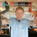 Maine lobster dealer has 3 rare colorful lobsters