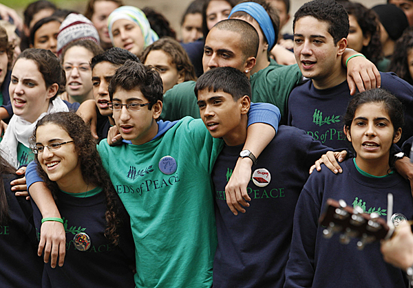 Arab Spring on Seeds of Peace campers' minds in Otisfield
