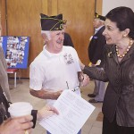 Snowe talks jobs, health care for vets at American Legion convention