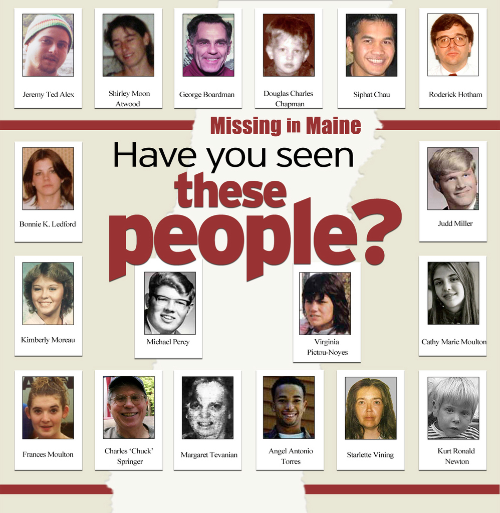 Profiles of Maine's missing people — News — Bangor Daily News