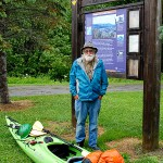 Solo NJ kayaker stops for the night on 740-mile trip to Fort Kent
