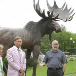 Aroostook moose sculpture: symbolic artwork or undue expense?