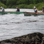 Fast water may move race site
