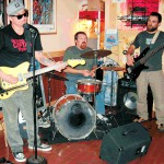 Juke Rockets Blues Band at the Time Out Pub in Rockland