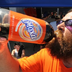 Moxie chugging champ crowned at Maine festival