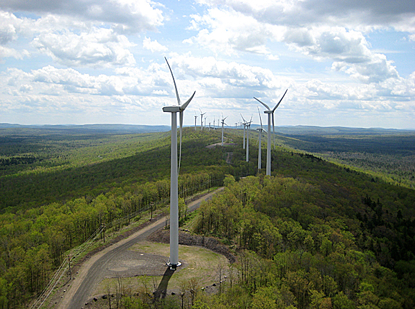 Wind firm eyes Oakfield, Rumford