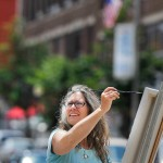 Bangor artists paint the town, in any color they choose