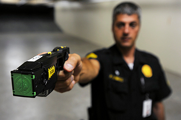 Bangor council OKs Taser for Eastern Maine Medical Center