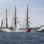 Coast Guard training ship docks in Rockland